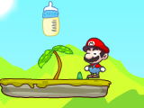 mario milk bottle